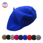 Kyпить Wool French Beret Women's Men's Plain Solid Color Tam на еВаy.соm