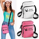 SHARE THE LOVE CROSS BODY BAG MONEY TRAVEL MINI Ipad TABLET Kids girls