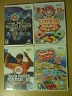 NINTENDO WII GAMES PICK & CHOOSE. ALL GAMES BRAND NEW FACTORY SEALED!