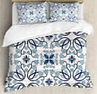 Traditional Duvet Cover Set with Pillow Shams Persian Palace Buds Print image
