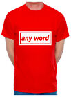 Customise Your Mens T-Shirt Any Word Choose A Name City Town Pub