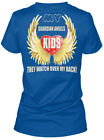 My Guardian Angels Are Kids - They Watch Over Back! Gildan Women's Tee T-Shirt