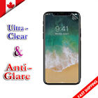 Clear & Anti-Glare Matte Screen Protector Film For Apple iPhone X XS Max XR