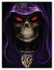 Baltimore Ravens Evil NFL Car Bumper Sticker Decal- 3'' or 5'' $4.0 USD on eBay