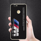 BMW M Motorsport style cover case for Huawei P8 p9 p10 p20 honor7 honor8 honor9