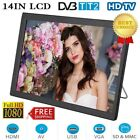 "14"" TFT LED HD TV Portable Television HDMI AC/DC 12V Power Home Car Boat Digital"
