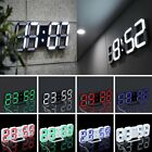Modern Digital LED Desk Room Clock Watches Alarm Snooze Night Home Office A7