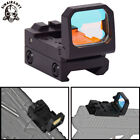 Tactical Pistol Scope Folding Red Dot Sight Holographic Glock Flip Sight 3 MOA