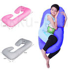 Multi-color Pregnancy Pillow - Full Body Pillow for Maternity Pregnant Women C&U image