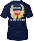 My Guardian Angels Are Grandparents - They Watch Over Hanes Tagless Tee T-Shirt