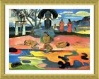 Day Of The Gods by Paul Gauguin   Framed canvas   Wall art oil painting giclee