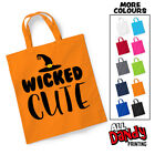 Wicked Cute Tote Bag - Halloween Sweets Trick Or Treat Sack Costume Girls Boys