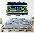 Seattle Seahawks Wall Art Decal 3D Smashed Kids Bedroom Wall Decor WL149 on eBay