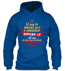 Never Doubt Summers - I May Be Wrong But Highly It Am Gildan Hoodie Sweatshirt