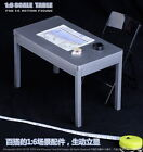 Military 1/6 Scale Furniture Table Desk Chair for 12 inch Action Figure Solider