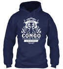 Team Congo Lifetime Member Legend - Gildan Hoodie Sweatshirt