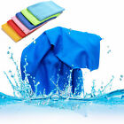 Sports Exercise Sweat Summer Ice Cold Towel PVA Hypothermia Cooling Towel JB