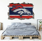 Denver Broncos Wall Art Decal 3D Smashed Football Kids Wall Decor WL170 on eBay