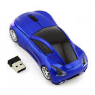 Car Shape 2.4Ghz Wireless Optical Gaming Mouse Mice & USB Receiver For PC Laptop