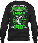 Larger Opponent - Its Rare To Find A Sport Where Gildan Long Sleeve Tee T-Shirt image