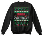 Mcghee Family Ugly Sweater S - Christmas Hanes Unisex Crewneck Sweatshirt
