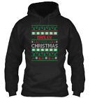 Manley Family Ugly Sweater S - Christmas Gildan Hoodie Sweatshirt