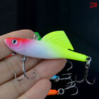 65mm Winter Ice Sea Sinking Hard Fishing Lures VIB Bait Diving Swivel Jig LTJB