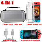 For Nintendo Switch Carrying Case Suitcase Portable Pouch Travel Bag Accessories