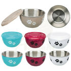 Fresh Feed Bowl & Lid Perfect for defrosting raw dog/cat food keeps meat fresh