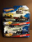 HOT WHEELS TRUCK TRANSPORTER HAULER DETACHABLE CAB CHOOSE ONE 002
