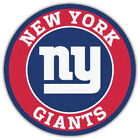 New York Giants Nfl Label Car Bumper Sticker Decal - 3'' Or 5''