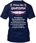 Missing Grandma In Memory Grandmother - You Not A Day Hanes Tagless Tee T-Shirt