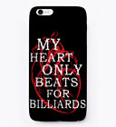 Heart For Billiards Gift Phone Case iPhone $19.99 USD on eBay