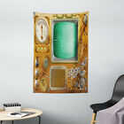 Retro Tapestry Grunge Steampunk Machine Print Wall Hanging Decor