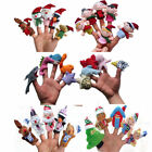 Toy GUT Family Finger Puppets Cloth Doll Baby Educational Hand Cartoon Animal