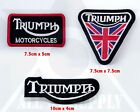 Triumph Collection Patch Motorcycle Iron on Sew on Embroidered Badge Patch $3.31 AUD on eBay