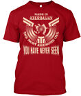 Made In Azerbaijan Funny Gift - The Most Awesome One Hanes Tagless Tee T-Shirt