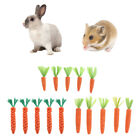 5 Pieces Cotton Rope Small Animal Carrot Chew Toys for Pet Hamster Puppy Dog