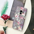 Flower Painted Ultra Slim Hard PC Shockproof Case Cover For Samsung Note9/S8/S9+