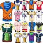 Men Dragon Ball Z Compression T-Shirt DBZ Goku Sports Short Sleeve Jersey Tops