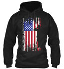 Trendsetting Strong Patriotic Type - I'm The Gildan Gildan Hoodie Sweatshirt