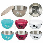 Fresh Feed Bowl & Lid Great for defrosting raw dog/cat food keep meat fresh 1.3l