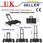 6-Universal-Wheel Hand Trolley Truck Steel Frame Heavy Duty Sack Cart NEW