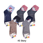 5 Pairs characters  cartoon socks Moomin Combed cotton cute women and boy socks