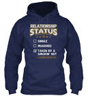 Taken By Hot Luxembourger Girl S - Relationship Status Gildan Hoodie Sweatshirt