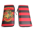 Harry Potter Hogwarts Synthetic Leather Badge Wallet Hand Satche Purse Bag