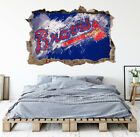 Atlanta Braves Wall Art Decal MLB Baseball Team 3D Smashed Wall Decor WL78 on Ebay