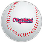 Cleveland Indians Slogan MLB Logo Ball Car Bumper Sticker  - 9'', 12'' or 14'' on Ebay