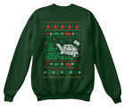 Custom-made Christmas Sweater Turtle Ugly Hanes Hanes Unisex Crewneck Sweatshirt