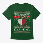 Made In Malta Christmas Ugly Sweater Hanes Tagless Tee T-Shirt